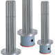 WATROD and FIREBAR ANSI Flange Immersion Heaters